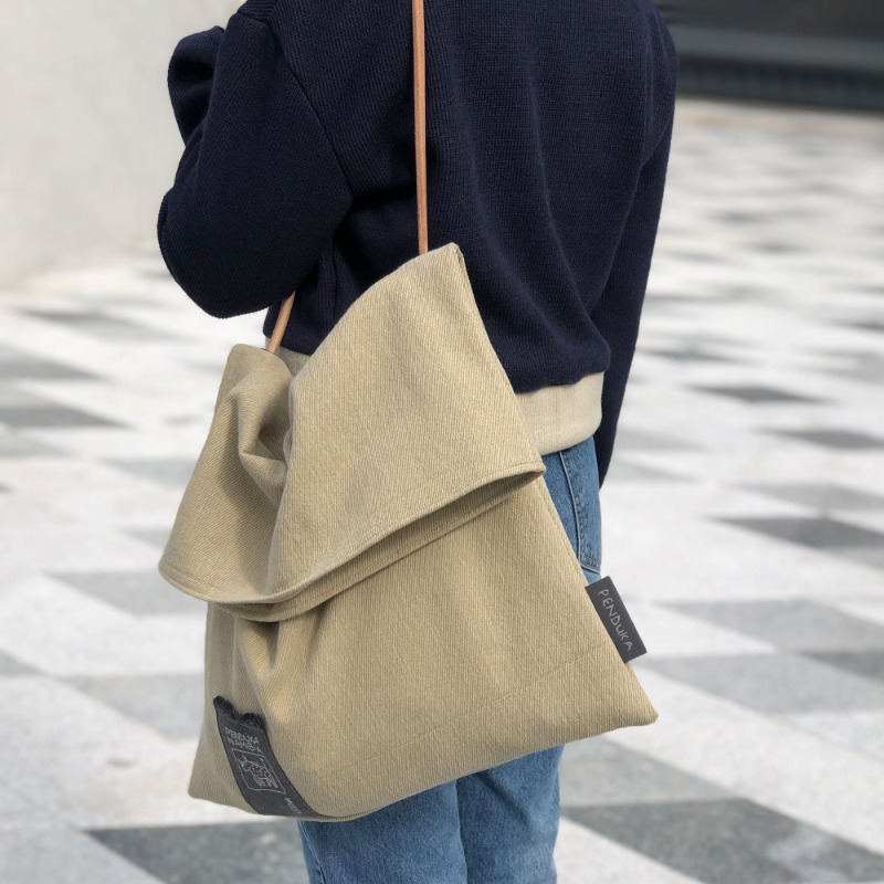 [PENDUKA]Wednesday Bag - Beige